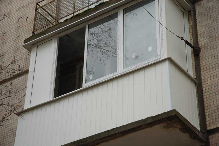 Как сделать наружную обшивку балконов 60