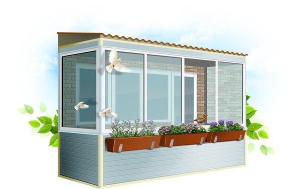 Балконы и лоджии заказать под ключ в жк новое тушино недорог.